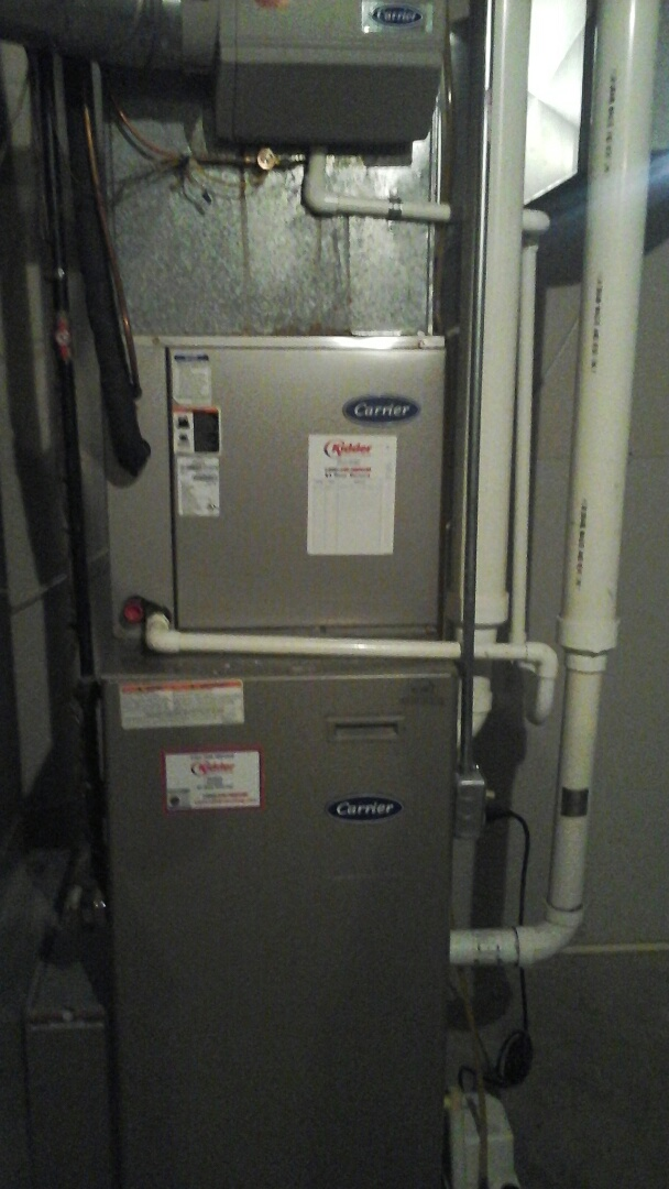 Bellevue, MI - Carrier Furnace preventative maintenance