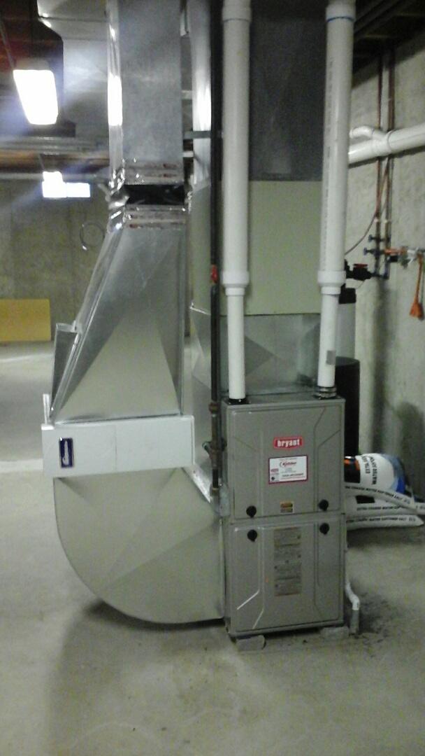 Ceresco, MI - Bryant furnace maintenance