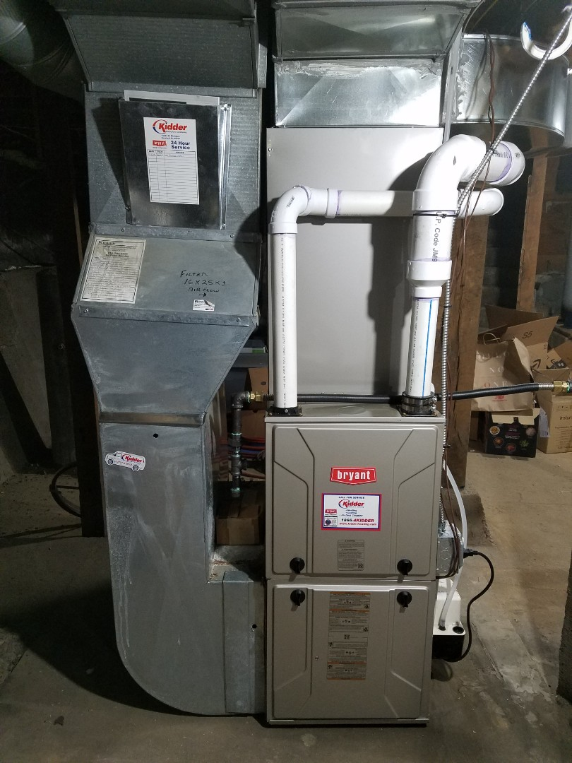 Battle Creek, MI - New Bryant furnace and A/C  Install