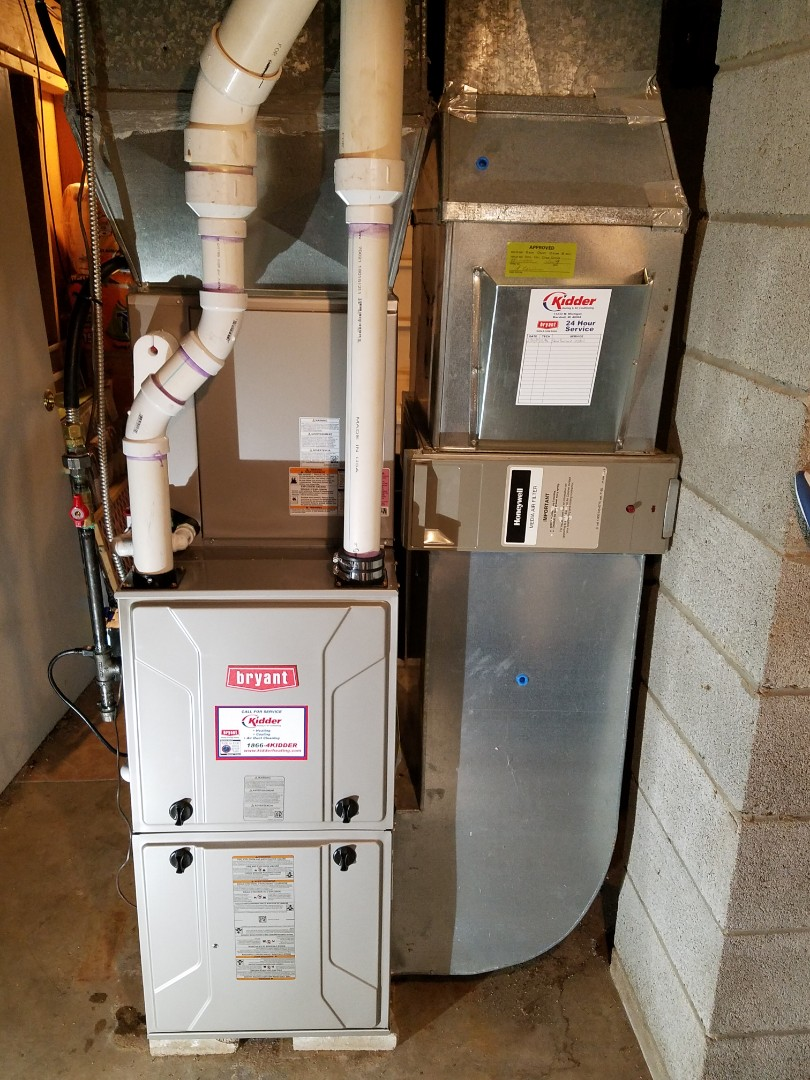 Marshall, MI - New. Bryant Furnace and A/C coil