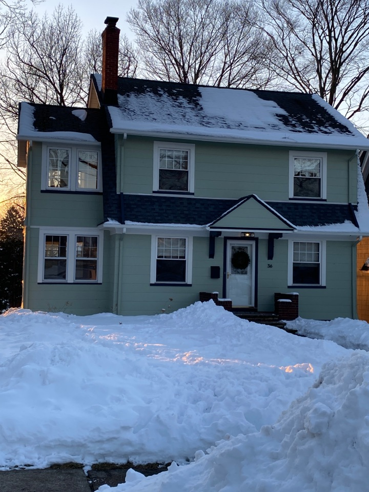 Bloomfield, NJ - Estimating residential property for new roofing and siding installation.
