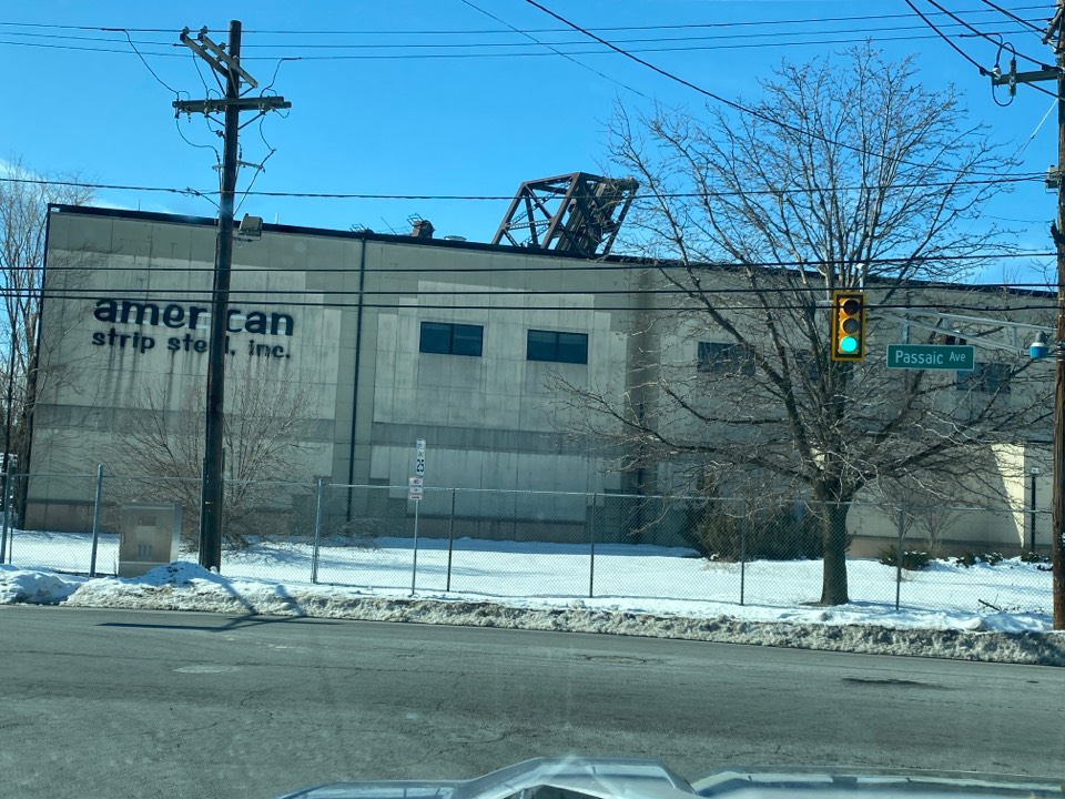 Harrison, NJ - Estimating commercial property for new Carlisle TPO roof system