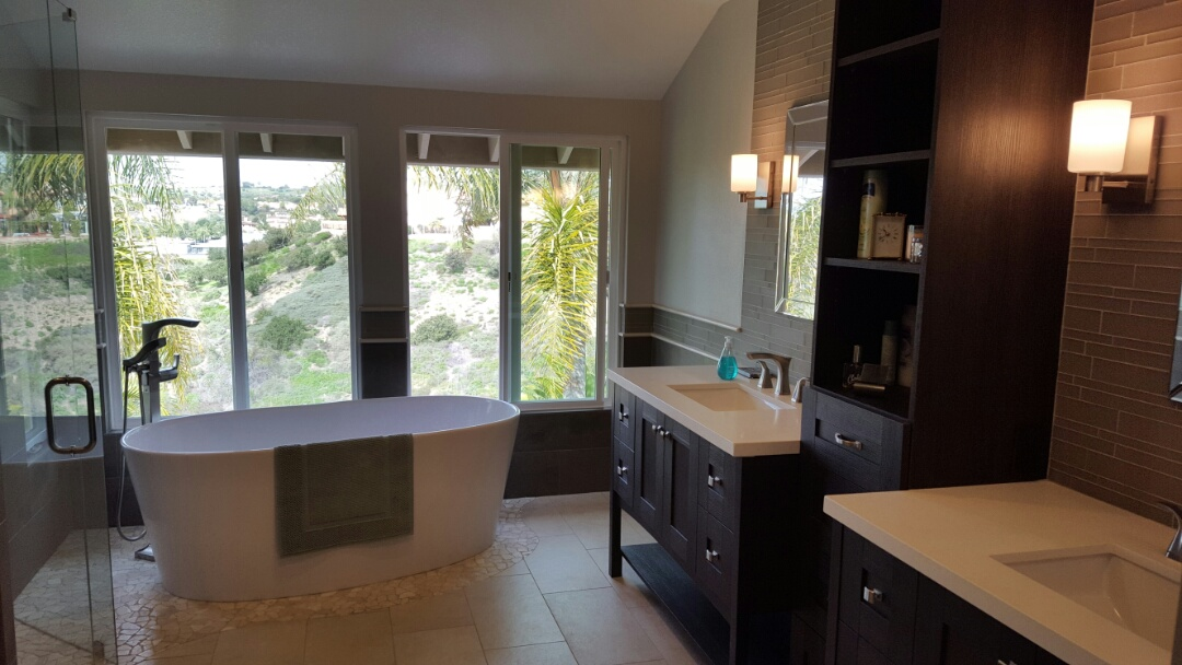 San Diego, CA - Another beautiful bathroom completed