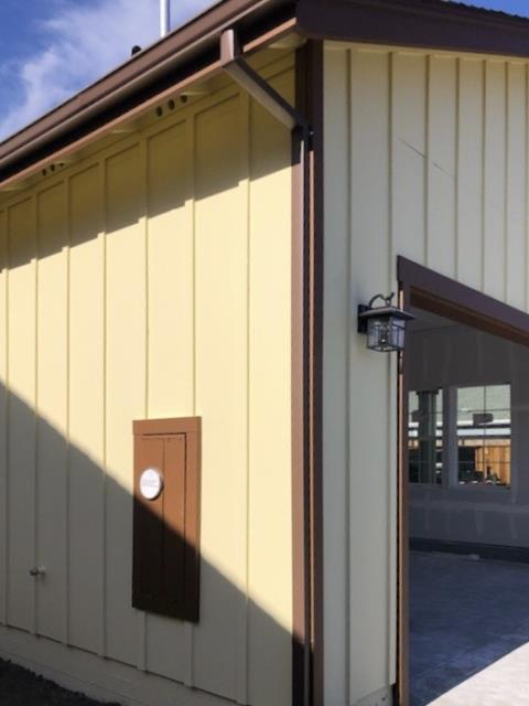 Santa Rosa, CA - A job done well and close to home! This Santa Rosa residence is now equipped with 60' of brand new downspouts to keep the coming winter rains flowing smoothly!