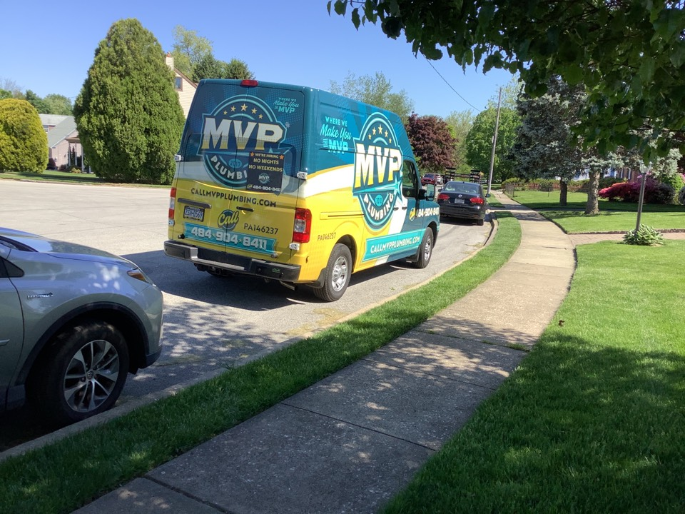 Broomall, PA - Fixing water line in Broomall Pa