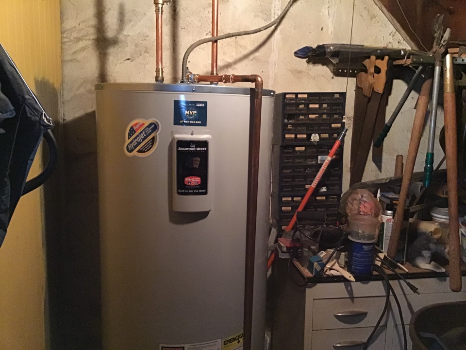 Drexel Hill, PA - Installed 80 gallon electric water heater in Drexel Hill Pennsylvania