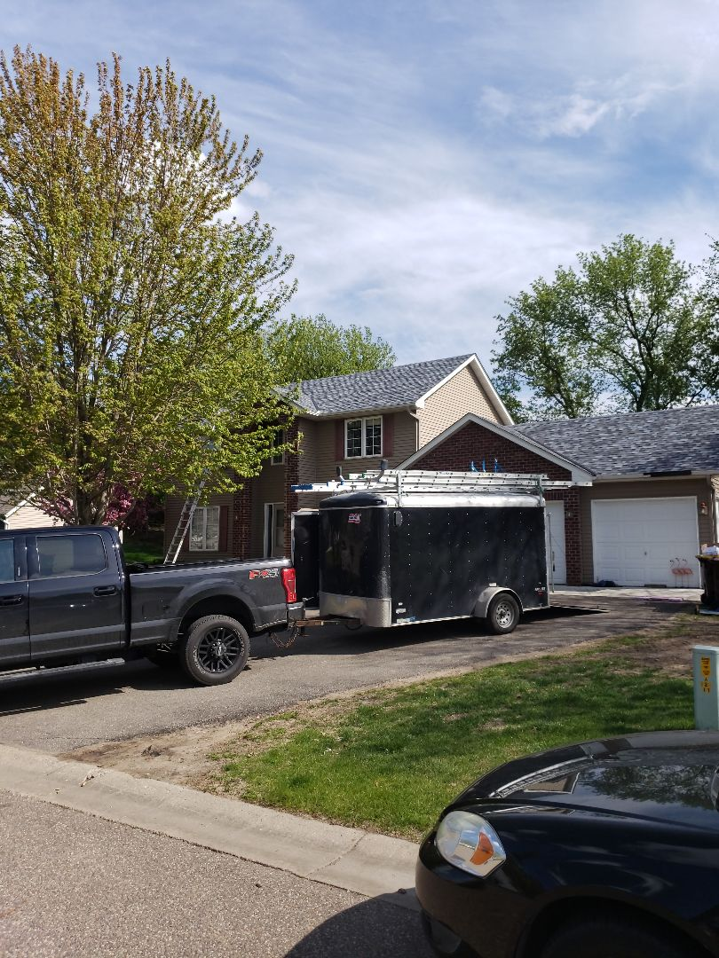 Elko New Market, MN - Beautiful new roof installed by Allstar Construction Residential using Owens Corning Duration in Pacific Wave
