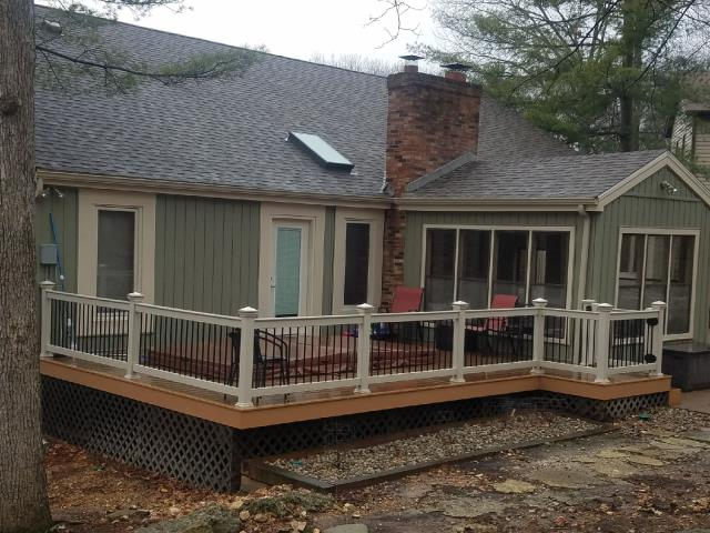 "Belleville, IL - ""So happy with our Deck! Words can not explain it!"""