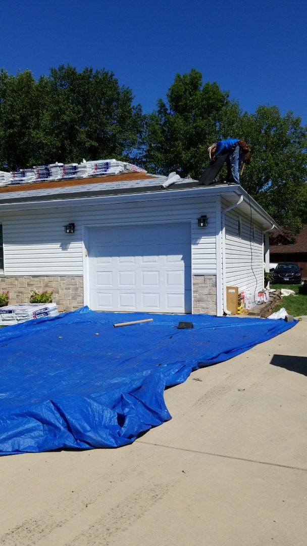 Millstadt, IL - new roof
