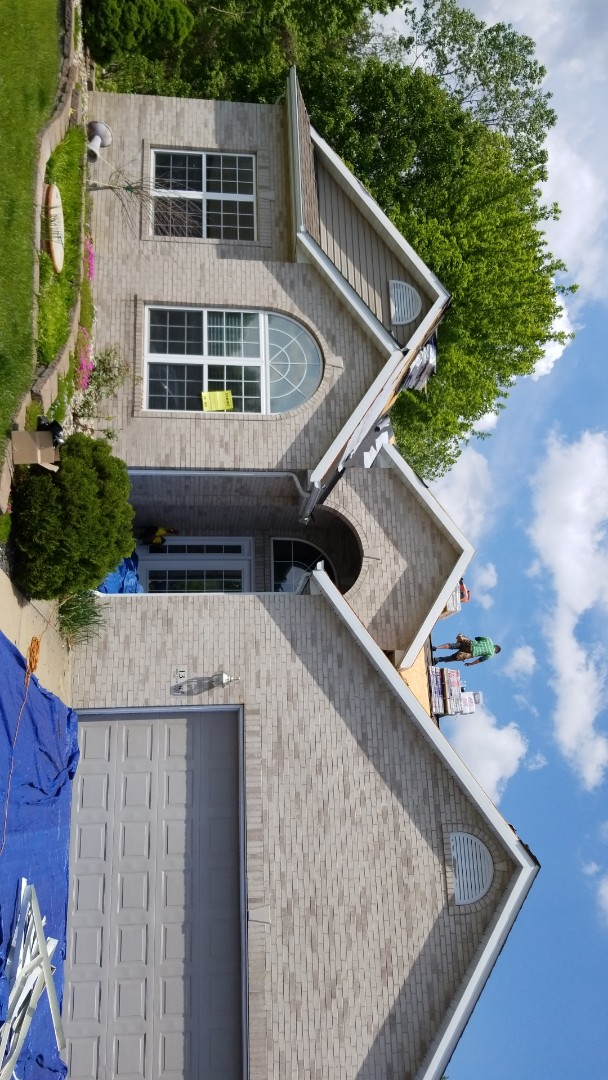 Glen Carbon, IL - New roofing project