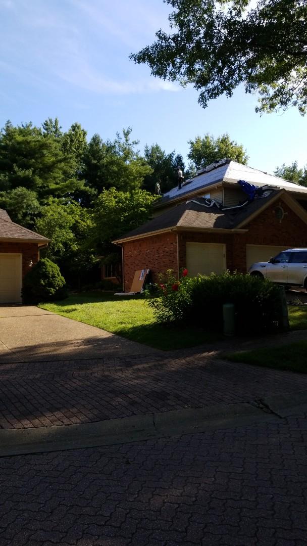 Edwardsville, IL - Storm remediation