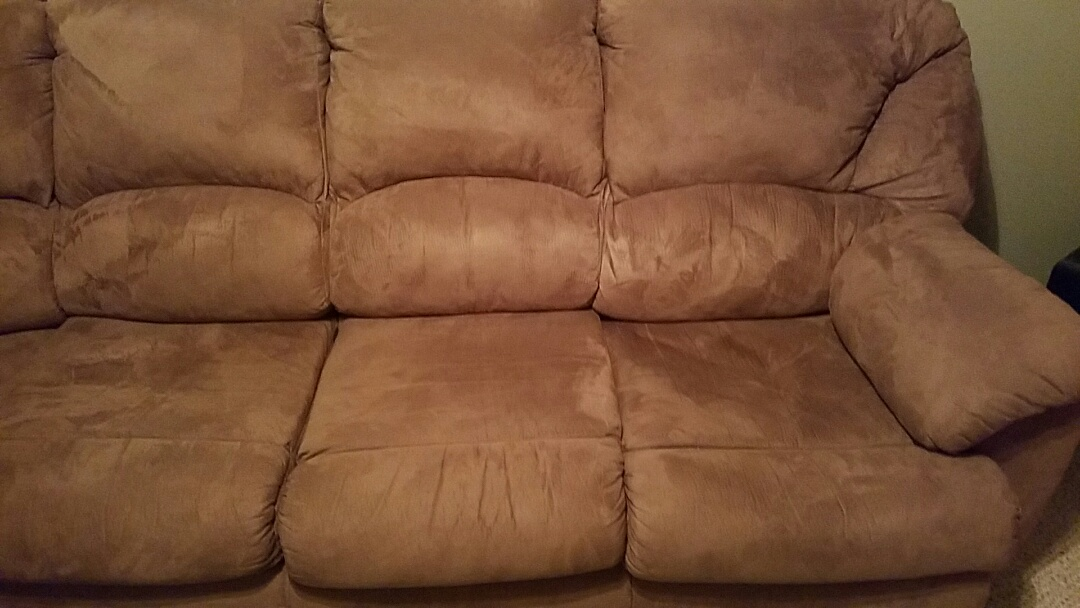 Hagerstown, MD - 3 boys, a cat and a dog and you'd never know it by looking at this sofa after a good cleaning.