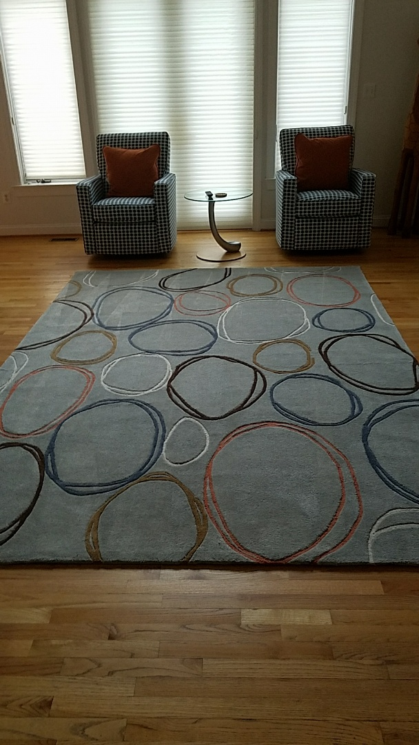 Ijamsville, MD - This Oriental rug was atrocious from this family's dog. It smells and looks a 100X better!