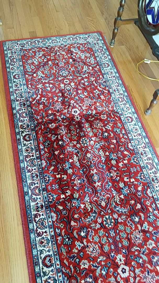 very clean rugs for a wonderful lady