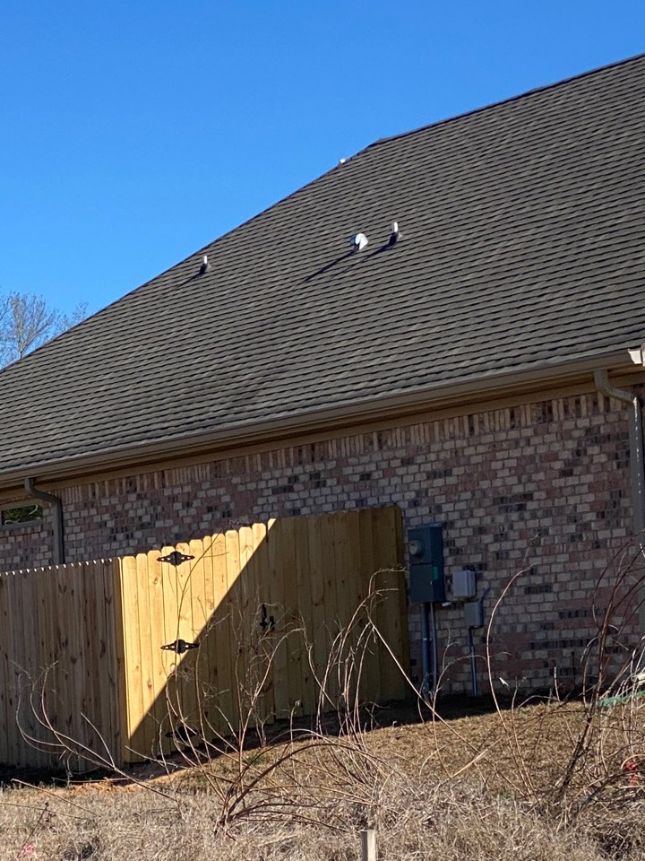 Install 6 inch seamless gutter in k  style in the clay color Give us a call today for all your gutter installation needs