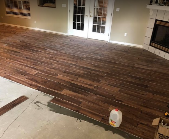 East Milton, FL - Gutter Solutions and Home Improvements offers a wide range of home renovation services, including flooring repair and flooring installation.