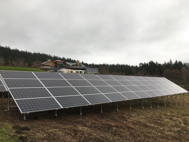 Anacortes, WA - Installing Solar at a home in Anacortes, WA