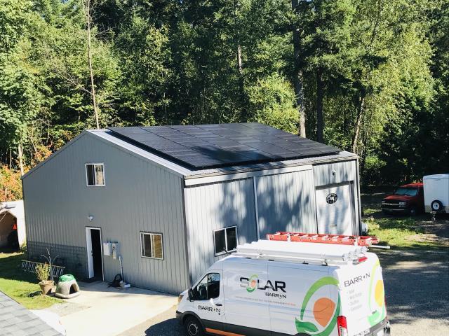 Ferndale, WA - Installing Solar at a home in Ferndale, WA