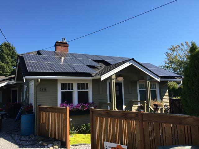 Bellingham, WA - Installing Solar in a home Bellingham, WA