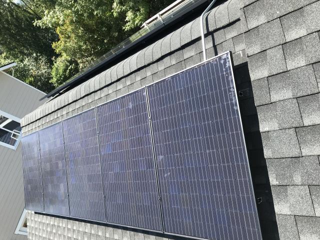 Bellingham, WA - Installing Solar at a home in Bellingham, WA