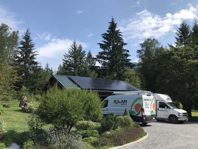 Maple Falls, WA - Installing solar at a home in Maple Falls, WA