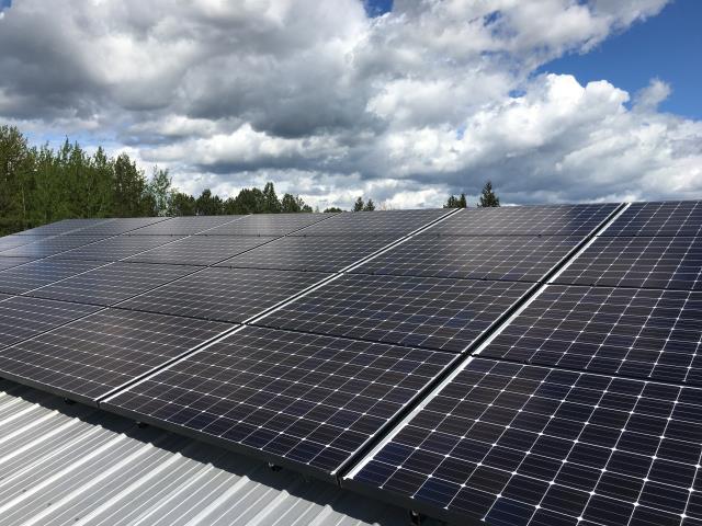 Ferndale, WA - Installing solar at  residence in Ferndale, WA