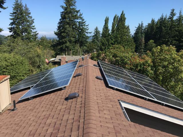 Bellingham, WA - Installing Solar at a residence in Bellingham, WA