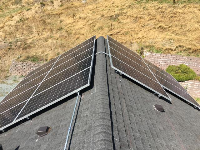 Installing Solar at a residence in Sedro Woolley, WA