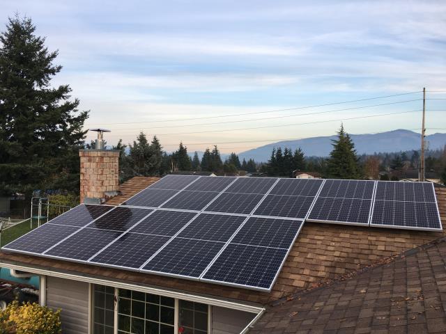 Mount Vernon, WA - Installing Solar at a residence in Mount Vernon, WA