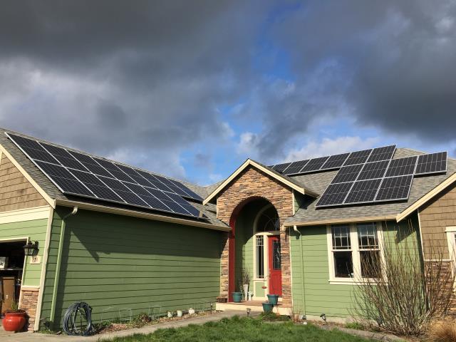 Oak Harbor, WA - Installing Solar at a residence in Oak Harbor, WA