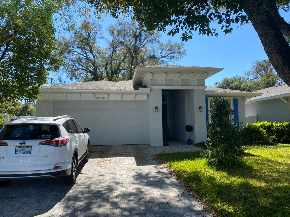 Orlando, FL - Customer has a roof leak. Roof in fair condition should be able to perform a proper repair and get several extra years of life.