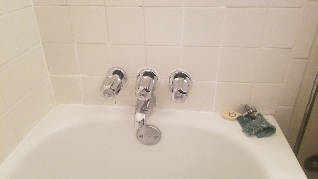 Millington, TN - Installed new 3 handle tub and shower valve