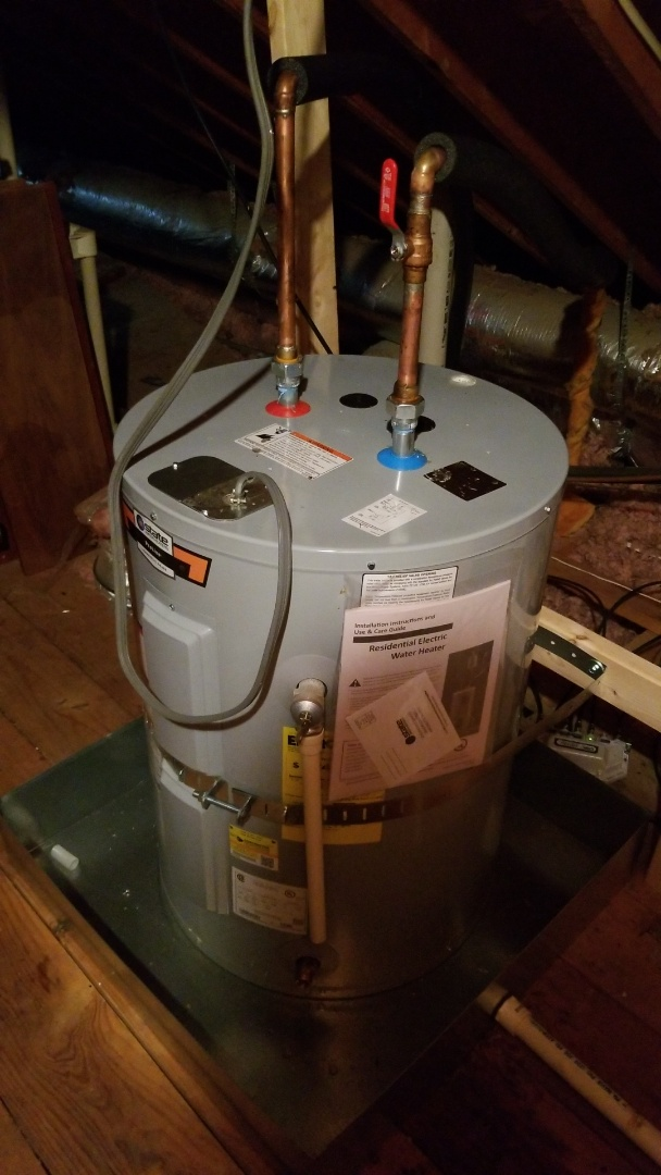 Germantown, TN - Replaced water heater