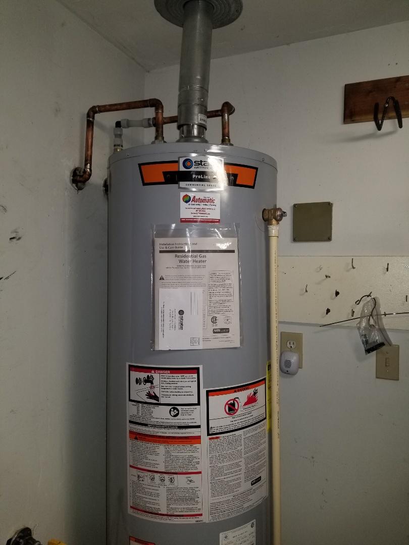 Memphis, TN - New water heater install