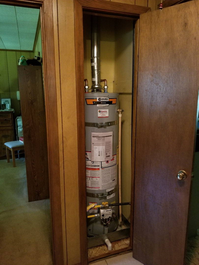 Olive Branch, MS - New water heater install