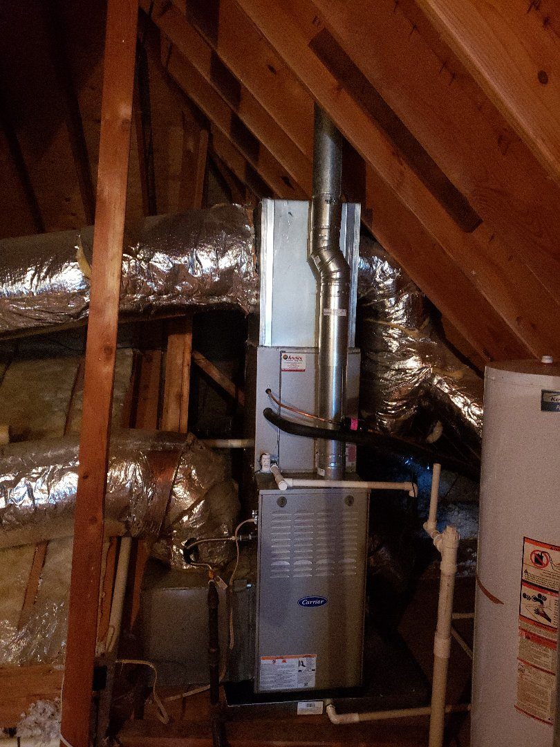 Memphis, TN - Install new 4ton carrie unit . Furance,coil, condenser.  Cordova tn.