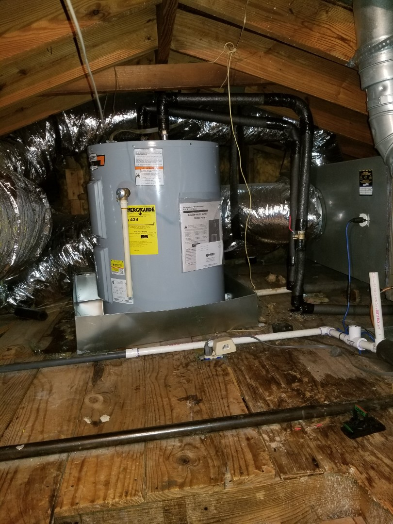 Memphis, TN - New water heater installed