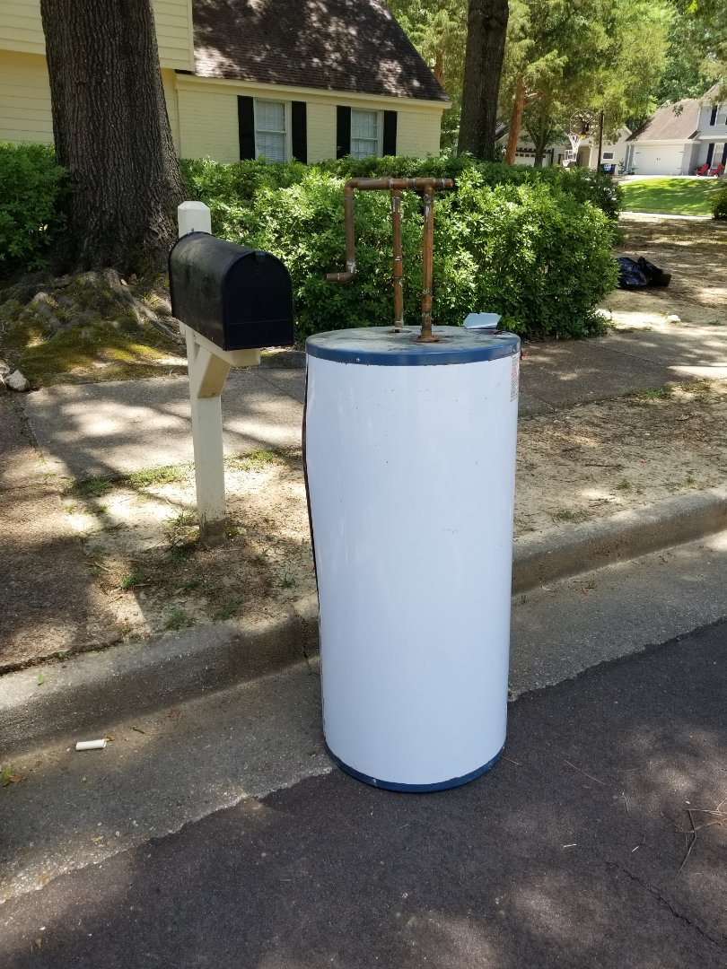 Germantown, TN - New water heater installed