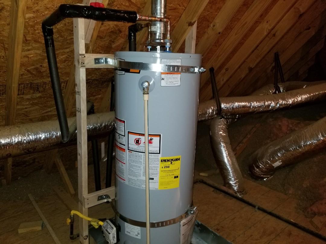Arlington, TN - Water heater installed