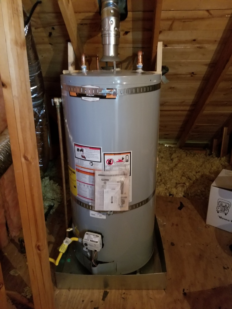 Olive Branch, MS - Water heater installed