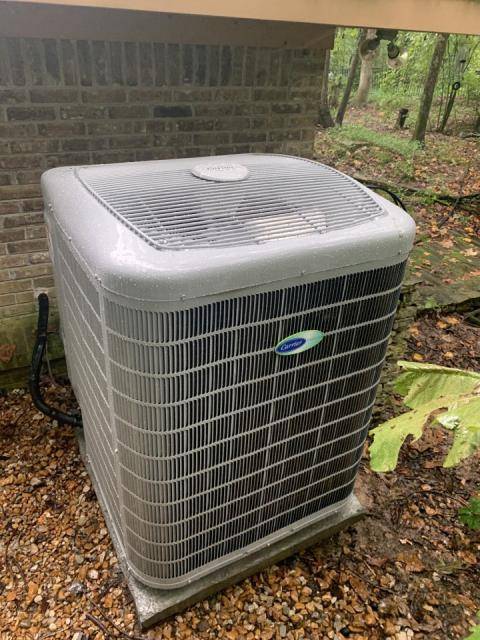 Memphis, TN - Installed the New Carrier Infinity 26 SEER Variable Speed Condensing unit.  The Utility might owe them money each month it is so efficient.  The comfort is unmatched.  Unbelievable Humidity control.