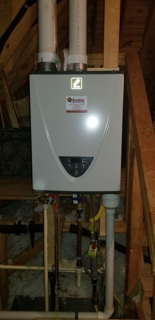 Collierville, TN - New tankless installation
