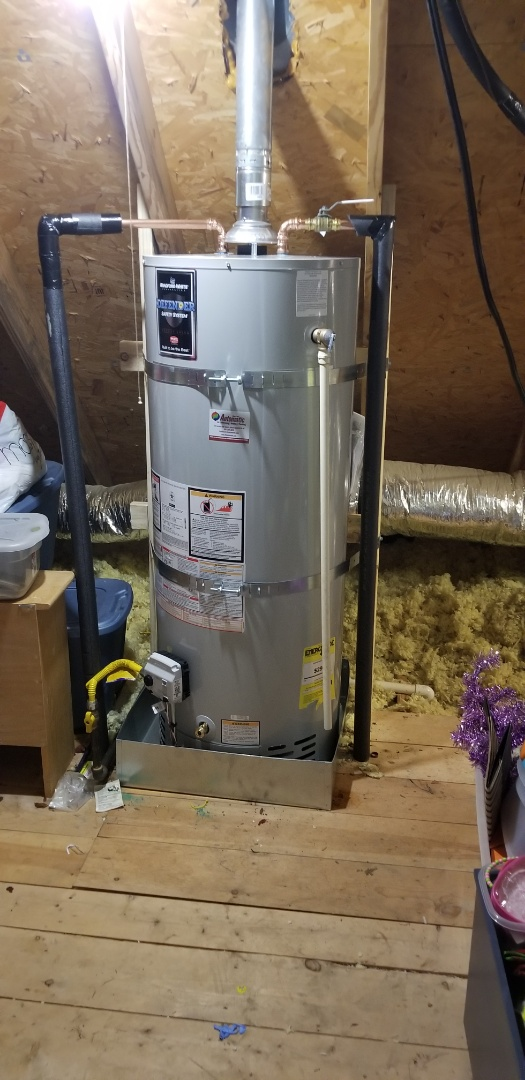 Olive Branch, MS - New water heater installed