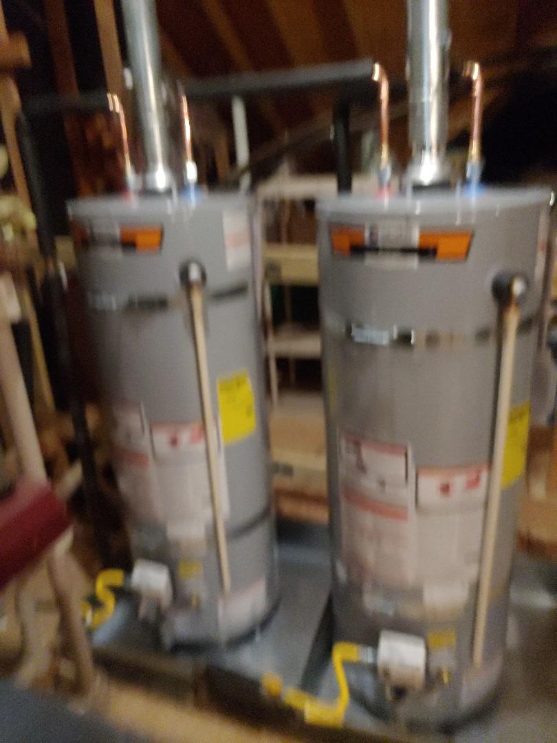 Germantown, TN - Install 2 50 gallon water heaters