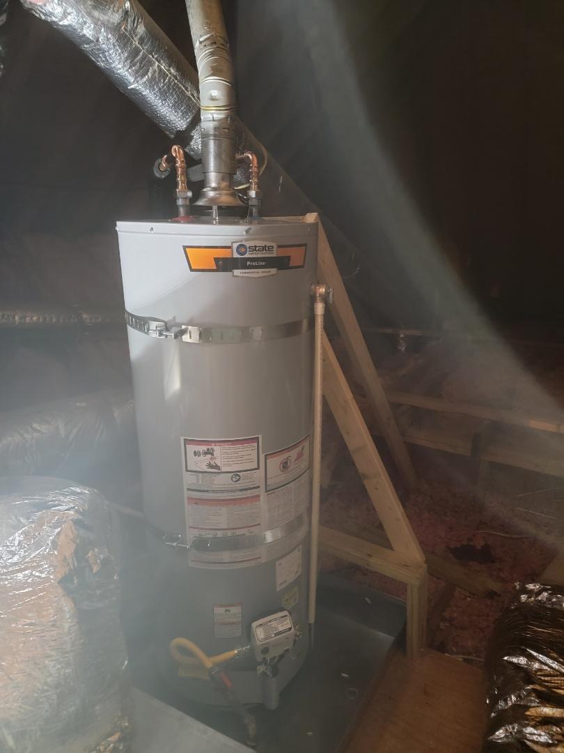 Germantown, TN - New water heater installation