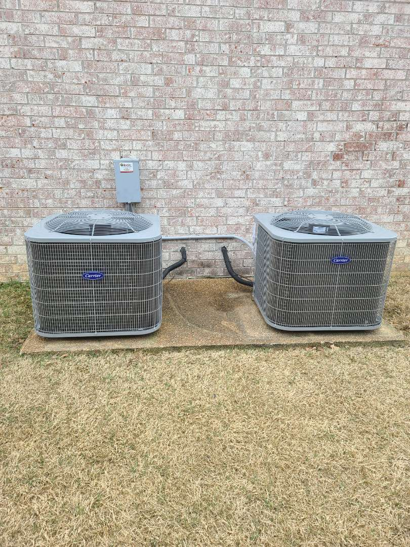 Lakeland, TN - Install two complete 4 ton systems . Furance,coils an condensors.