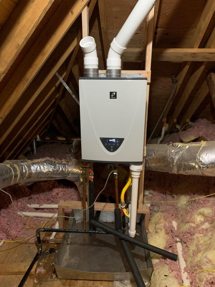 Arlington, TN - Installed takagi tankless water heater