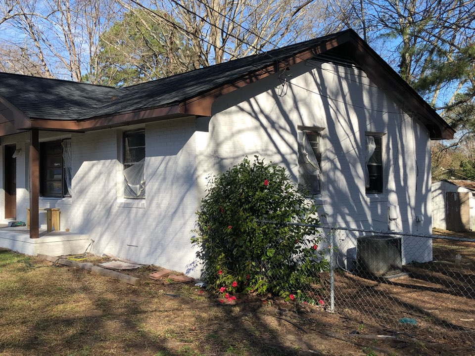 Winder, GA - Follow up on a customer's remodel project. This home has never had AC. We added a new Trane furnace and Air Conditioner and this customer will be ready to put this home on the market.