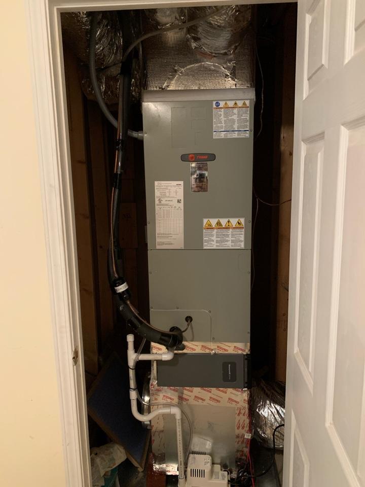 Flowery Branch, GA - Installed a basement unit