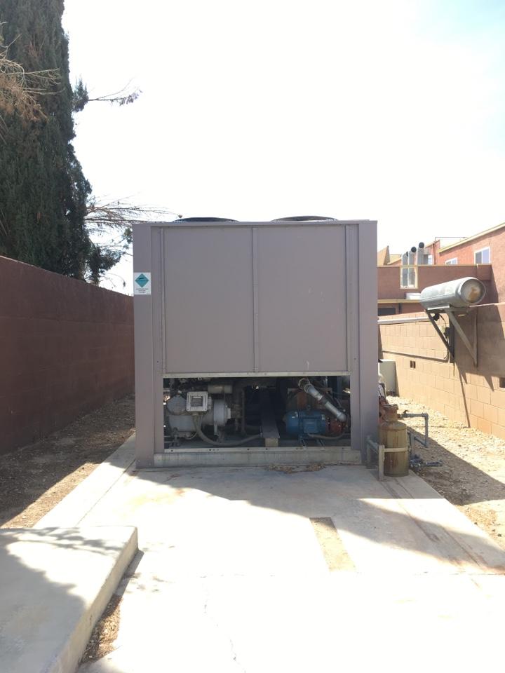Lancaster, CA - Commercial air conditioning repair.
